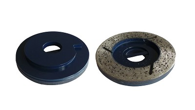 031192 - Dia-disc Nat d.125 SF 25x5mm Korrel 0+ B