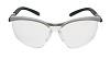 Veiligheidsbril met leesvenster +2,00