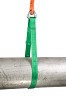 Hijsband S-4 met triangel 2mtr  2T Groen