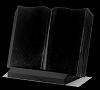 Boek Staand Absolut Black 45x35x2cm