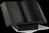 Boek Staand Absolut Black 35x25x3,5cm