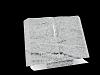 Boek Staand Viscount White 35x25x3,5cm