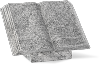 Boek Staand Viscount White 40x30x4cm
