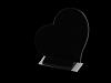 Hart Staand Absolut Black 30x25x2cm